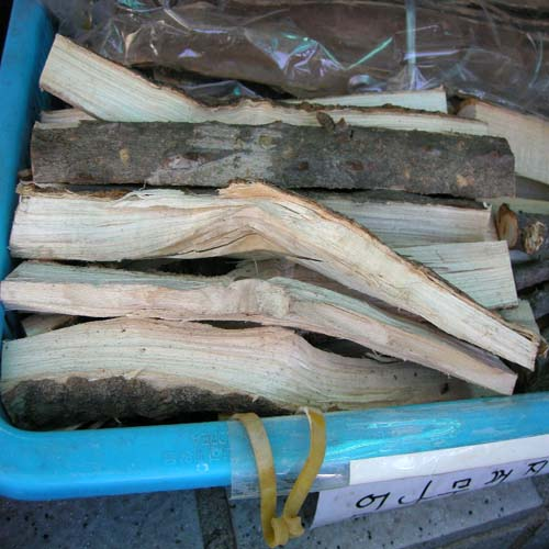 엄나무 껍질 판매모습